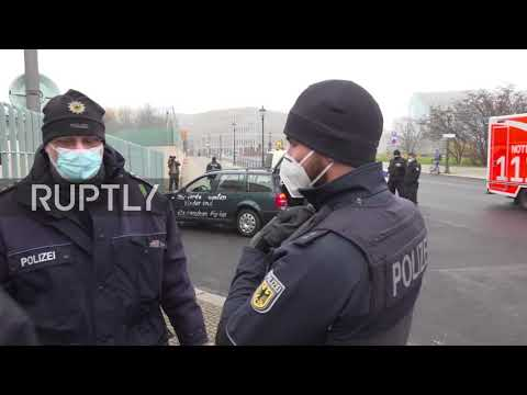 Germany: Car crashes into gates of Chancellery in Berlin