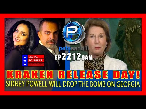 EP 2212-9AM KRAKEN RELEASE DAY! Sidney Powell's First 'Biblical' Case To Be Filed In Georgia