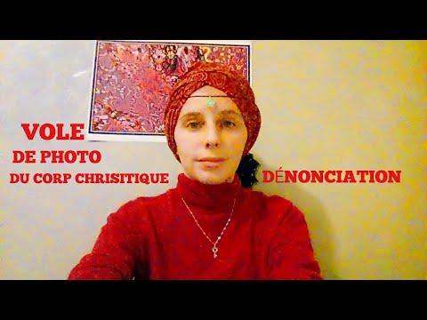 Marketing de la lumière Christique , Sylvie Joubert voleuse des photo du corp de Lumière Christique