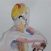 Alain Montoir aquarelle