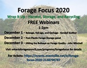 Forage Focus 2020 - Baleage, Fail-age, and Garbage - Kendall Guither