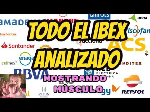 TODAS LAS ACCIONES DEL IBEX ANALIZADAS POR ALBERTO GARCIA SESMA