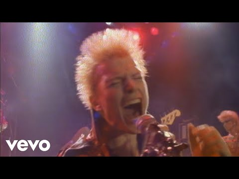 Billy Idol - Rebel Yell (Official Music Video)