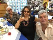 A cantora Martinha e eu no Ed Carnes