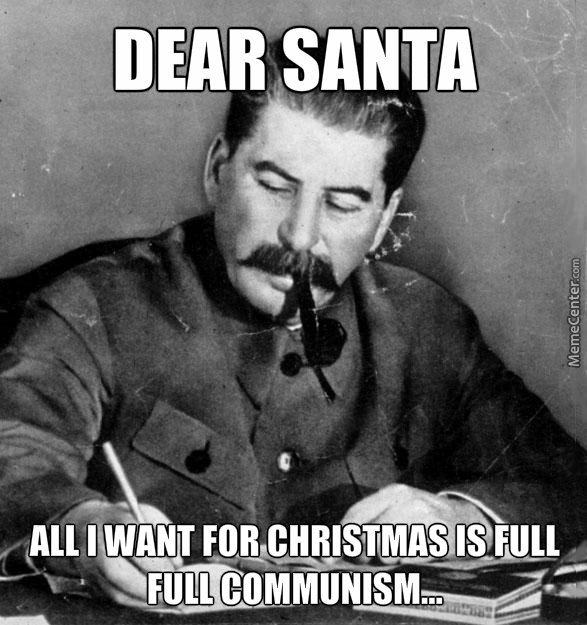 stalin santa wish list