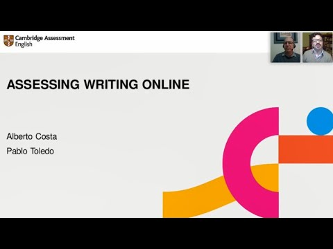 Assessing Writing Online. Presenters: Pablo Toledo and Jose Alberto Costa