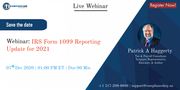 IRS Form 1099 Reporting Update for 2021