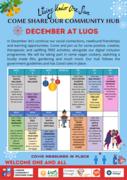 Free December Activities at LUOS Community Hub (Down Lane Park)