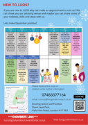 Free December Activities @ LUOS Community Hub (Down Lane Park)