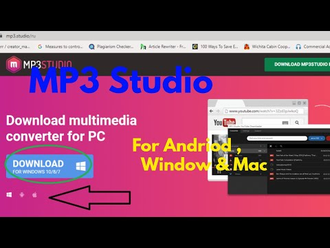 How To Download Video/Audio From Internet? [MP3Studio]