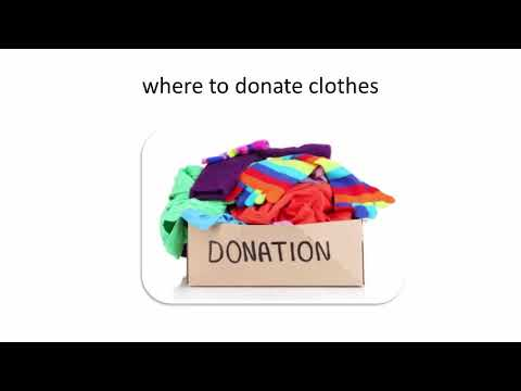 The Importance Of Clothing Donations