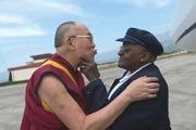 H.H. the Dalai Lama and Desmond Tutu
