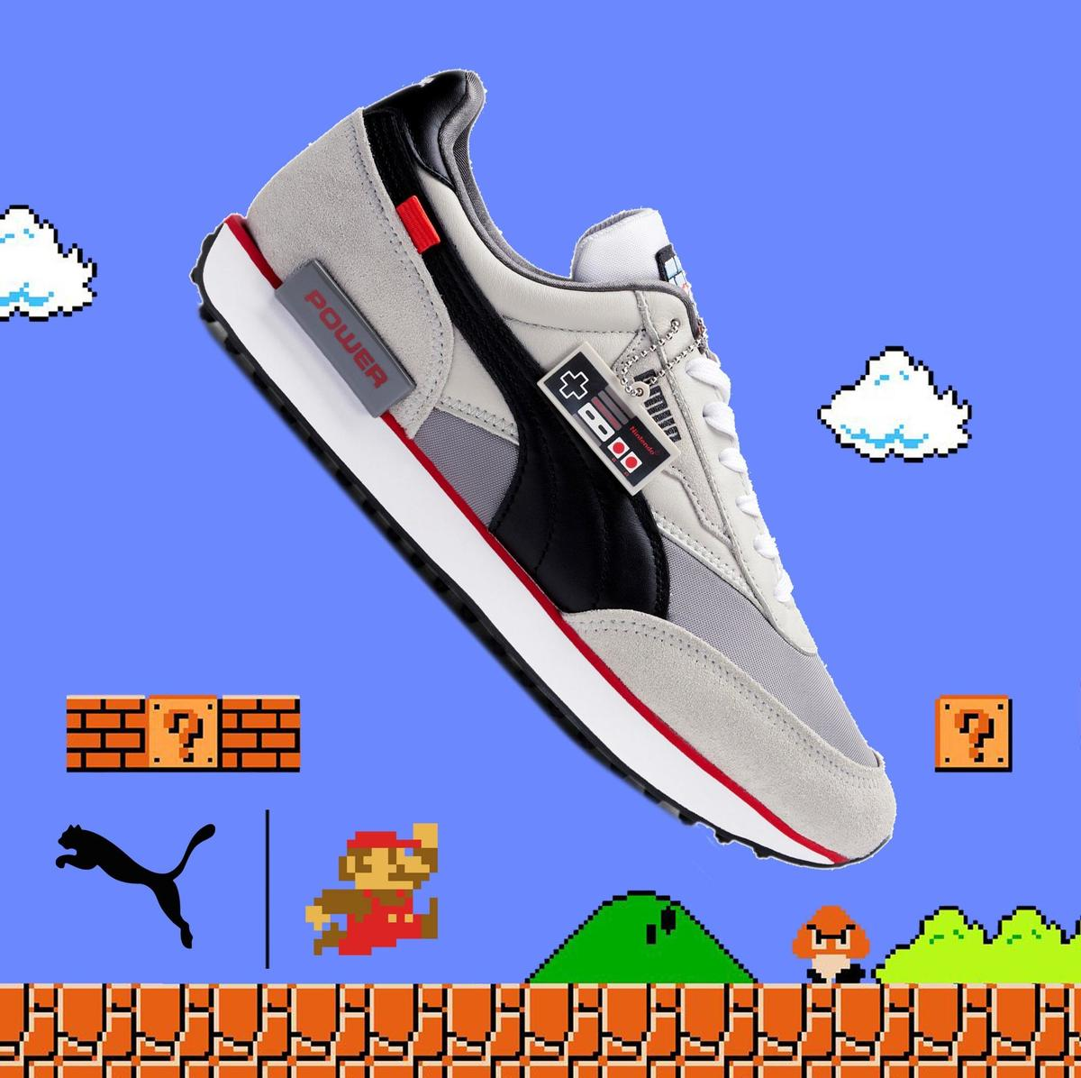 These Shoes Are Fire! Nintendo x Puma Future Rider