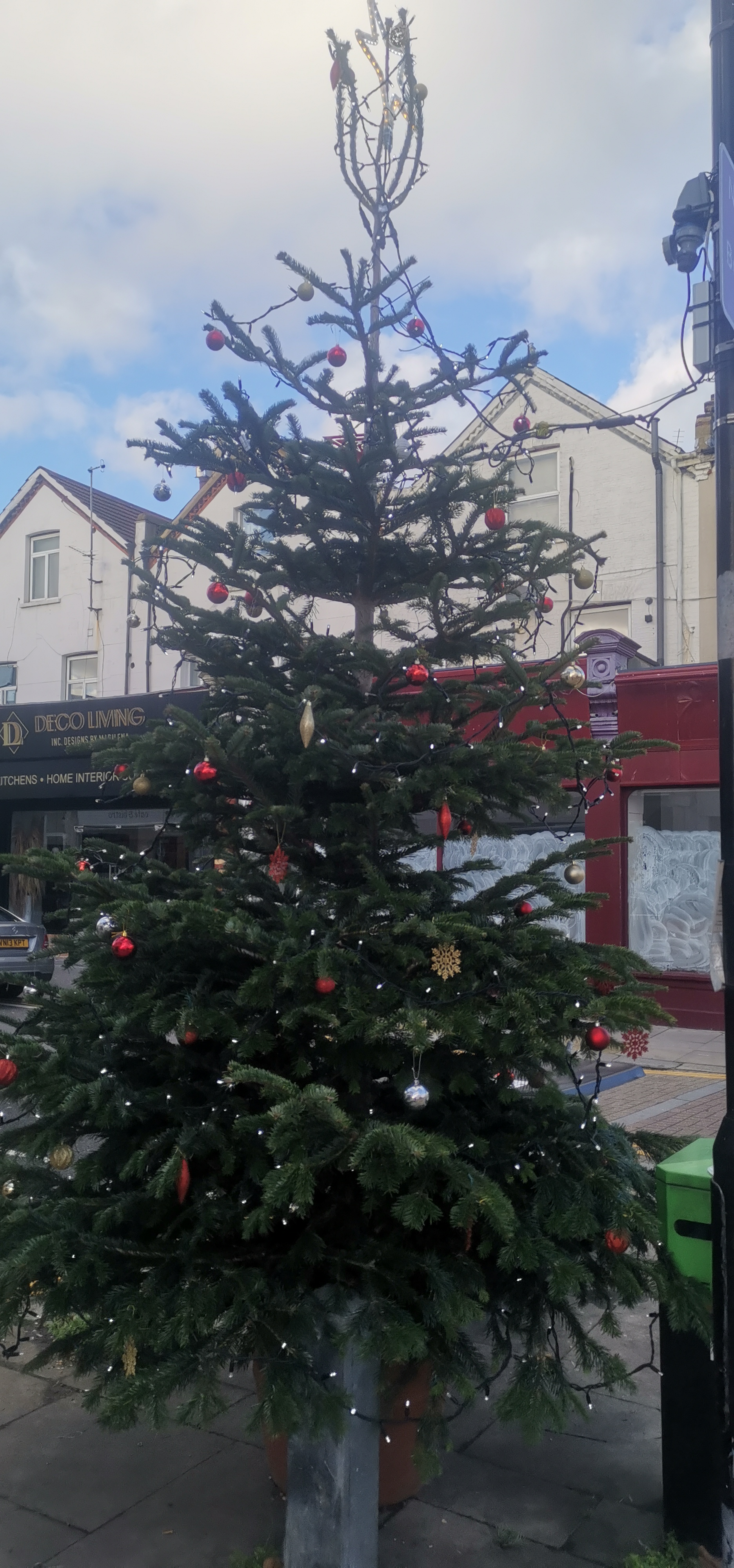 Myddleton Road Xmas Tree