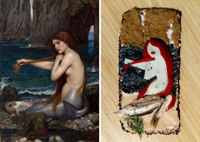 ხელოვნება, არტი, სენდვიჩი, ნახატი, მხატვრობა, ბლოგი, qwelly, art