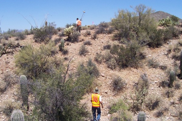 Closing corners and Land Surveying Measurements