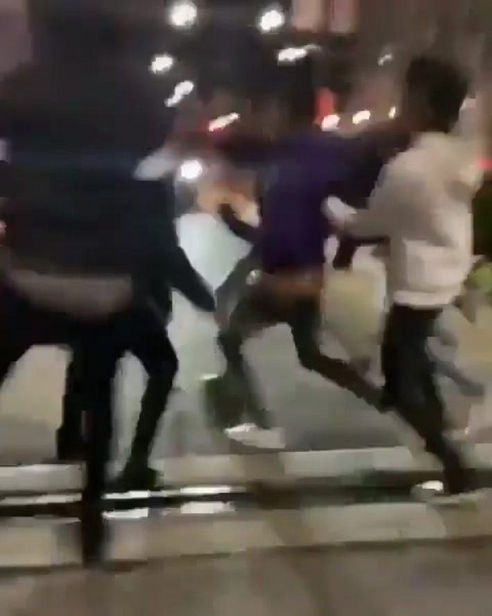 Guy gets jumped