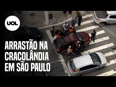 Brazil: Junkies and Thugs Mass Purging in 'Cracolândia', São Paulo