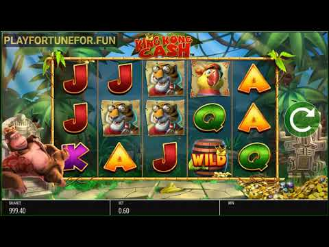 King Kong Cash Slot Game (Blueprint Gaming) - Demo Play on PlayFortunefor.fun
