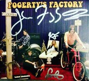 Fogerty's Factory CD- Signed by John Fogerty, Shane Fogerty, Tyler Fogerty and Kelsy Fogerty