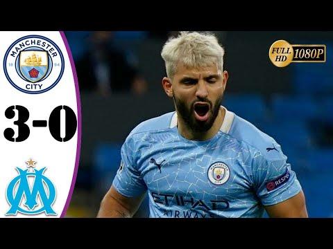 ฟูลแมตช์+ไฮไลท์ Manchester City 3-0 Olympique Marseille