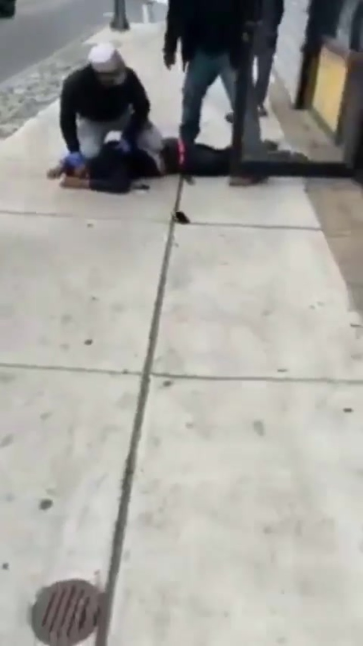 Kid gets shot in the habib store