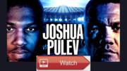 Live!! Anthony Joshua vs Kubrat Pulev,(Live'STREAM)#FrEE