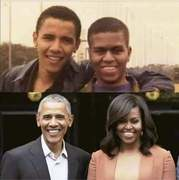 Oh the lies they weave,Obama's Then and Now