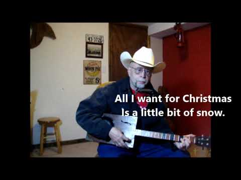 Just A Little Snow - Cowboy Christmas song ~ by me