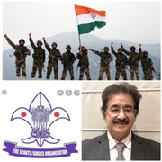 Chief Scout For India Sandeep Marwah Spoke on Armed Forces Flag Day