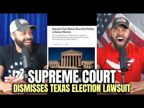 U.S. Supreme Court Dismisses Texas Election Lawsuit