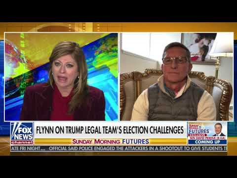 """General Michael Flynn With Maria Bartiromo: """"We Have Conclusive Evidence of Foreign Interference"""""""