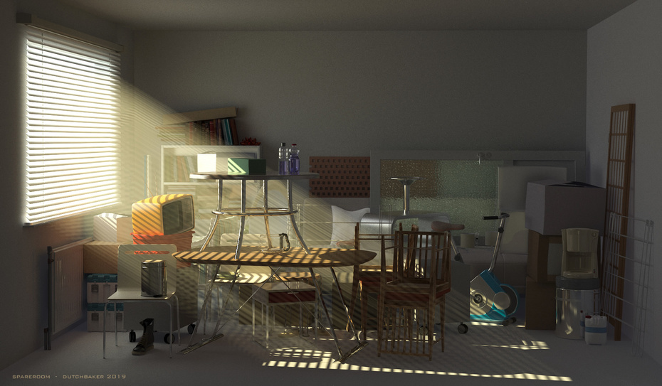 SPARE ROOM 3D