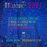 NYElectric W Dallas Rooftop New Year's Eve Party 2021