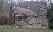 An Old Cherokee Cabin