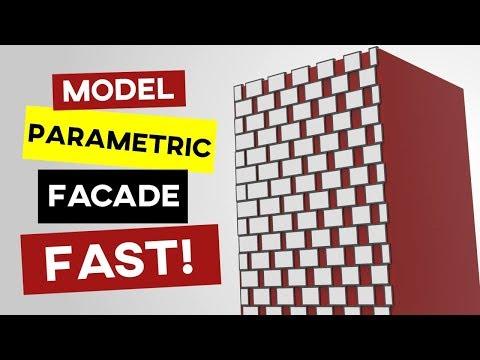 Parametric Facade (Grasshopper)