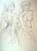 Esquissepour 2 danseuses