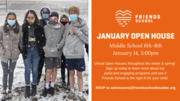Middle School January OPEN HOUSE