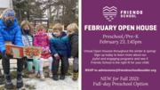 Preschool February OPEN HOUSE