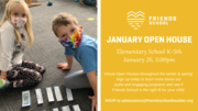 Elementary January OPEN HOUSE