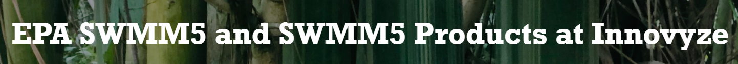 SWMM 5 or SWMM or EPASWMM and SWMM5 in 3rd Party Software Logo