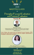 Master Class on Principles Focused Feminist Evaluation with Donna Podems