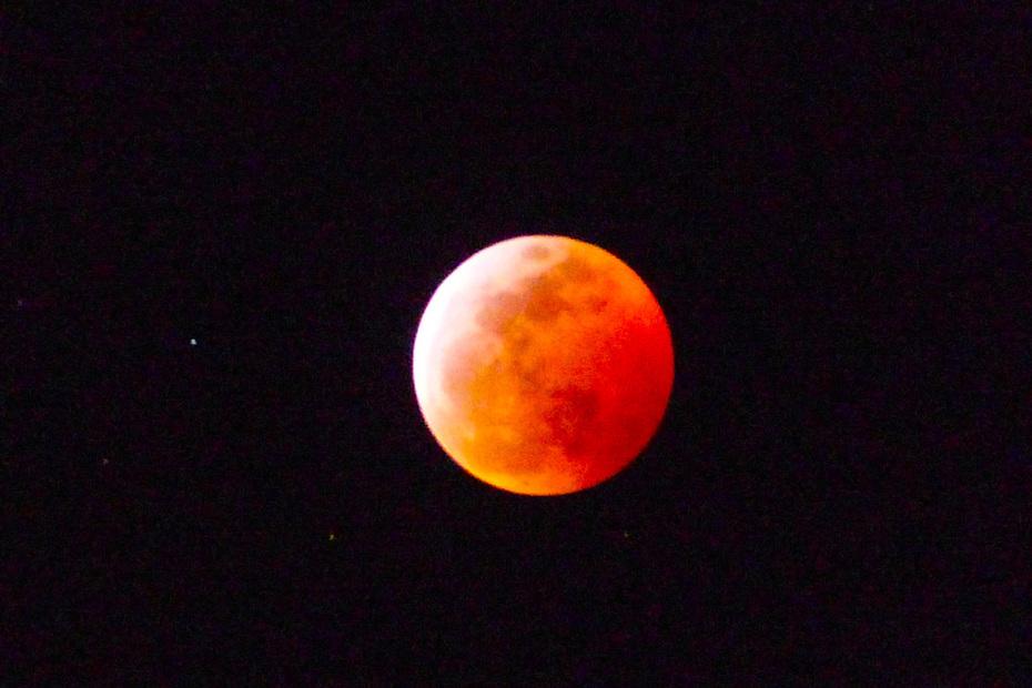 Lunar eclipse from