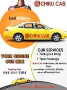 Best Cab Service from Jalandhar to Shimla, Manali