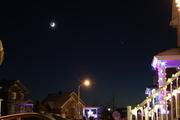 Saturn, Jupiter and Moon conjonction 2020 december 17
