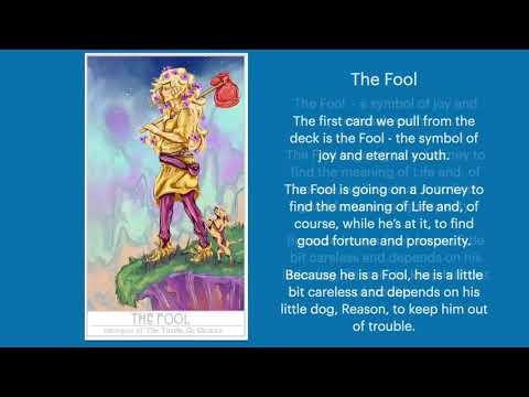 Musical Story of the Tarot by Sherolyn, Part 1: The Fool