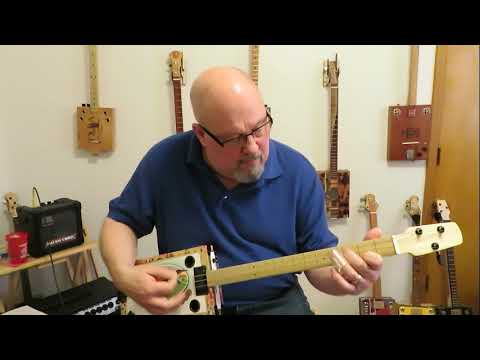 Cigar Box Guitar Build #34