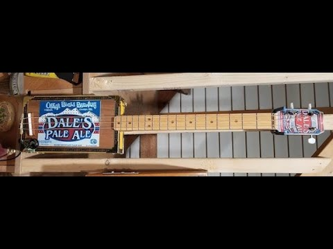 Another beer inspired Cigar Box Guitar