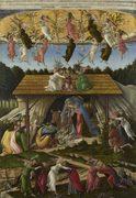 Mystic Nativity Sandro Botticelli