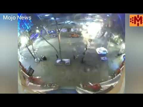CCTV Footage of Nashville blast . CCTV Nashville Explosion Tennessee , Video captures blast